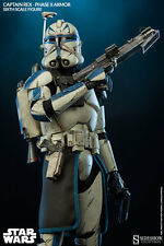 1/6 Scale Star Wars Captain Rex Phase II Armor Sideshow Collectibles Used
