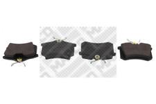 Bremsbelagsatz, Scheibenbremse für Bremsanlage Hinterachse MAPCO 6492