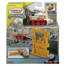 STANLEY CONSTRUCTION CLASH THOMAS & FRIENDS TANK ENGINE TAKE-N-PLAY MISP 2013