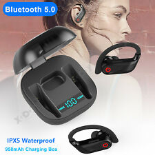 Wireless Bluetooth 5.0 Headset Earphone Sport Earbud Stereo Headphone For Phones