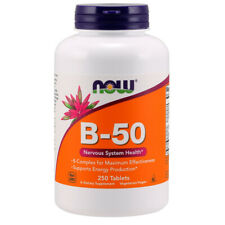 Vitamin B-50, 250 Tablets, Energy, Heart - NOW Foods