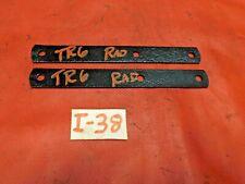 Triumph TR6, Radiator Support Bars, Upper, Original, !!