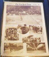 Sunday  September 29, 1929 THE NEW YORK TIMES NEWSPAPER -