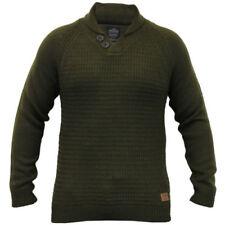 Maglioni e cardigan da uomo verde in lana taglia M