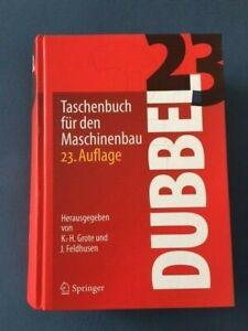 Dubbel, 23. Auflage, Taschenbuch für den Maschinenbau