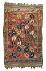 Antique Uzbek Pile Rug
