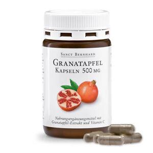 Sanct Bernhard Granatapfel-Kapseln 500 mg, Inhalt 90 Kapseln