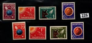 # ALBANIA - MNH - PERF+IMPERF - SPACE