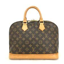 100% Authentic Louis Vuitton Monogram Alma Tote Hand Bag Purse /308DG