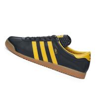 ADIDAS MENS Shoes Oslo - Black, Gold & Gum - EE5724