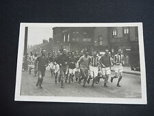 FOOTBALL LEEDS  UTD ? Yorkshire  TO RESEARCH   real photographic postcard