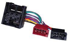 Adaptateur faisceau câble ISO autoradio pour BMW Série 3 E30 E36 E46 5 E34 E39