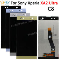 For Sony Xperia XA2 Ultra H3213 H4213 Genuine LCD Display + Touch Screen Gold.