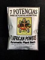 7 Potencias - 7 African Powers - Plant Bath - Baño de plantas