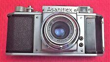 ULTRA RARE ASAHIFLEX MODEL IA w/ASAHI KOGAKU f/3.5 50mm FOR COLLECTION DISPLAY
