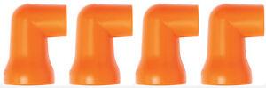"""(4) 1/2"""" 90° Nozzles for 1/2"""" Loc-Line® USA Original Modular Hose System #51830"""