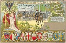 C4687) ARMA DEI REALI CARABINIERI 1814 VG NEL 1904.