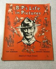 More details for b-p's life in pictures - vintage 1957 book - story of baden powell - boy scouts
