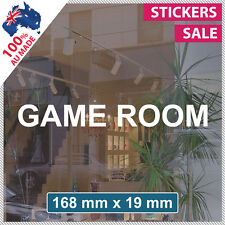 GAME ROOM Sticker ANY SIZE! Decal Custom Business Sign VINYL LETTERING (1005)