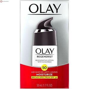 Olay Regenerist Advanced Anti-Aging Regenerating Lotion w sunscreen Spf 50 - 1.7
