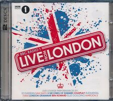 BBC 1 Live From London 2-disc CD NEW Ed Sheeran Coldplay Kasabian