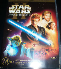 STAR WARS 2=Attack Of The Clones=NEW DVD R4=2 Discs=II