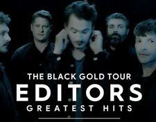 1 ticket - EDITORS: THE BLACK GOLD TOUR - Greatest Hits (Antwerp) 01-02-2020