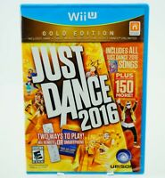 Just Dance 2016 Gold Edition: Wii U [Brand New]