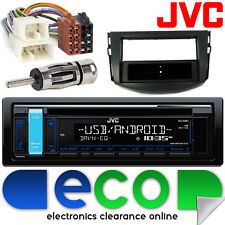 Toyota Rav4 2006-2015 JVC CD MP3 USB Aux Ipod Car Radio Stereo Fitting Kit