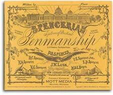 Spencerian Penmanship Copy Bk 1 (Paperback or Softback)