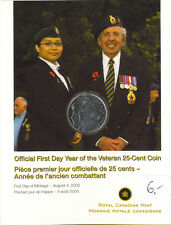 Canada 2005  The RCM Salutes the Year of the Veteran with a Collectible Coin