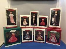Hallmark Keepsake Lot Of 9 Barbie Ornaments NIB