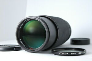 [Almost MINT] CONTAX Vario Sonnar T 80-200mm f/4 MMJ MF Lens C/Y from JAPAN E95