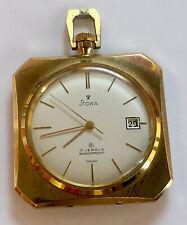 Vintage Stowa 17Jewel Shockproof Germany Pocket Watch sku121407