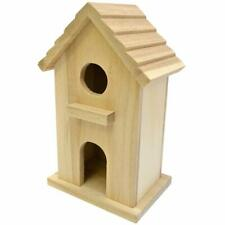 Decorative Bird House - Lilly. Approximately 4.5 inches x 3.1 inches x 7 inches