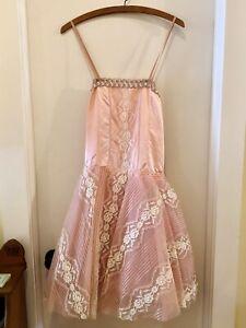 Vintage 1970's Pink Fairy Ballerina Costume Dress