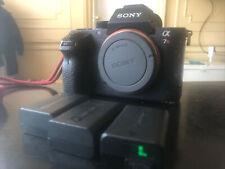 Sony Alpha a7R II 42.4MP Digital Camera - Black (Body and 3 batteries)