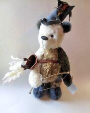 "AMAZING Robin Hood Artist Teddy Bear OOAK by Sandy Czaja-Notchlok Bears $265 19"""