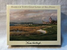 Linda Hartough Harbour Town Golf Links At Sea Pines 12 Note Cards Card