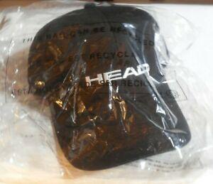 Head Sport Promotion Hat Cap Black - Adjustable Size
