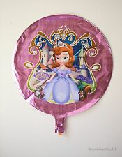 """Sofia The First round foil balloon 18""""(45cm) birthday party decoration AU Seller"""