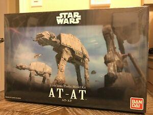 SEALED Bandai Star Wars 1/144 scale Plastic AT-AT Model Kit. USA Seller.
