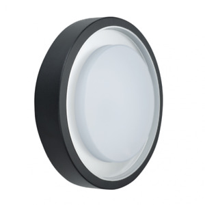 20W LED Bulkhead Light Die-cast Aluminium Body Black Finish