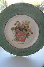 Wedgwood Sarahs Garden Dessert Plate Fragaria Vesca 21 cm 1st Quality Green