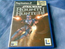 STAR WARS BOUNTY HUNTER for Sony PlayStation 2 PS2 Game with manual Lucas Arts