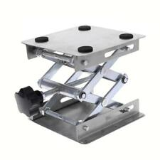 Laboratory Lifting Stand Rack Scissor Jack Bench Lifter Table Lab 100x100mm New