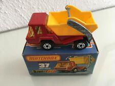 Matchbox Superfast Nr.37 SkipTruck, OVP