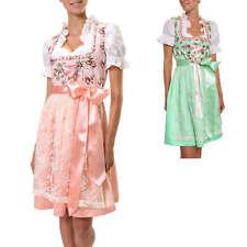 Hailys Damen Dirndl Set 3 Teilig Trachtenkleid Trachten Kleid Oktoberfest Wiesn