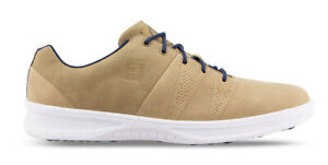 FootJoy Contour Casual Golf Shoes Spikeless Men's 54056 Taupe New