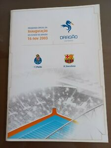 Oficial match day programe Lionel Messi debut
